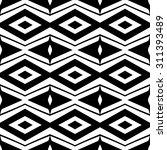 vector ethnic hand drawn... | Shutterstock .eps vector #311393489