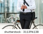 staying in touch. close up of... | Shutterstock . vector #311396138