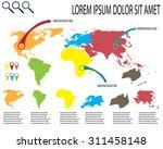 infographic11 | Shutterstock .eps vector #311458148