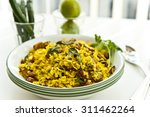 beaten rice cooked with... | Shutterstock . vector #311462264