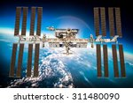 international space station... | Shutterstock . vector #311480090