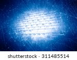 chemical abstract background on ... | Shutterstock . vector #311485514