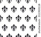 vector illustration of moroccan ... | Shutterstock .eps vector #311503118