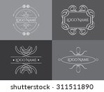 retro vintage insignias or... | Shutterstock .eps vector #311511890