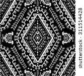 vector tribal mexican vintage... | Shutterstock .eps vector #311514428