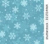christmas seamless pattern of... | Shutterstock .eps vector #311514464