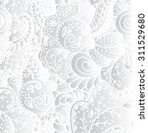 floral pattern in a realistic... | Shutterstock . vector #311529680