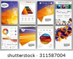 abstract vector backgrounds and ... | Shutterstock .eps vector #311587004