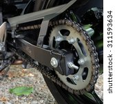 Rear Chain And Sprocket Of...