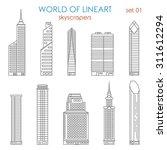 Architecture City Skyscraper...