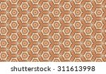 vintage shabby background with... | Shutterstock . vector #311613998