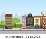 european city center....