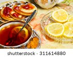 tea still life. | Shutterstock . vector #311614880