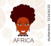 africa. portrait of africans....   Shutterstock .eps vector #311616110