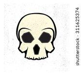 skull logo | Shutterstock .eps vector #311625374
