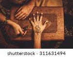Drawing Process Of Henna Menhd...