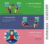 mental disorder psychological... | Shutterstock .eps vector #311651309