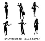 vector illustration of a six... | Shutterstock .eps vector #311653964