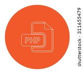 php file extension. flat white...