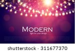 abstract colorful background... | Shutterstock .eps vector #311677370