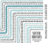 hand drawn decorative vector...   Shutterstock .eps vector #311682338