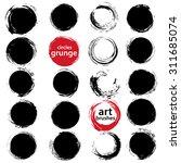 vector design elements. set of... | Shutterstock .eps vector #311685074