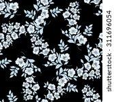 twig sakura blossoms. vector...   Shutterstock .eps vector #311696054