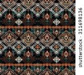 ethnic seamless pattern. ethno...   Shutterstock .eps vector #311698136