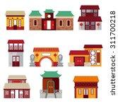 chinatown | Shutterstock .eps vector #311700218