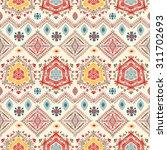 ethno seamless pattern. ethnic...   Shutterstock .eps vector #311702693