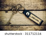 the concept of 'dreams' is... | Shutterstock . vector #311712116