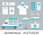 concept for coffee shop and ... | Shutterstock .eps vector #311713220