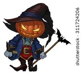 Halloween Character Jack O...