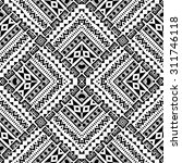 abstract hand drawn geometric...   Shutterstock .eps vector #311746118