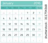 january 2016. simple european...