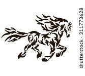 horse | Shutterstock .eps vector #311773628