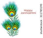 krishna janmashtmi | Shutterstock .eps vector #311785190