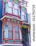 san francisco victorian house... | Shutterstock . vector #311792729
