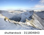 Snow Covered Mountain View In...