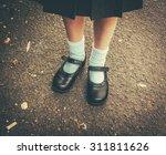retro style image of school... | Shutterstock . vector #311811626