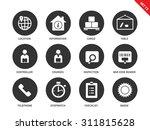 logistics vector icons set....   Shutterstock .eps vector #311815628