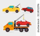 parking zone design  vector... | Shutterstock .eps vector #311831096
