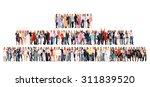 standing together workforce... | Shutterstock . vector #311839520