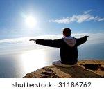 fly to sun. element of design. | Shutterstock . vector #31186762