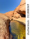 Water Hole In Spitzkoppe In The ...