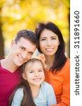 happy family having fun... | Shutterstock . vector #311891660