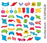 web stickers  banners and... | Shutterstock .eps vector #311893628