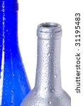 coloured creative bottle.... | Shutterstock . vector #31195483