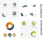 universal abstract geometric... | Shutterstock .eps vector #311964719