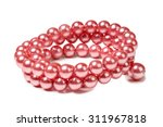 Beads Of Precious Stones On A...